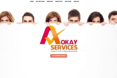 A-Okay Services Website by RijnWeb