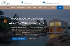 Waterwoonexperts Website by RijnWeb